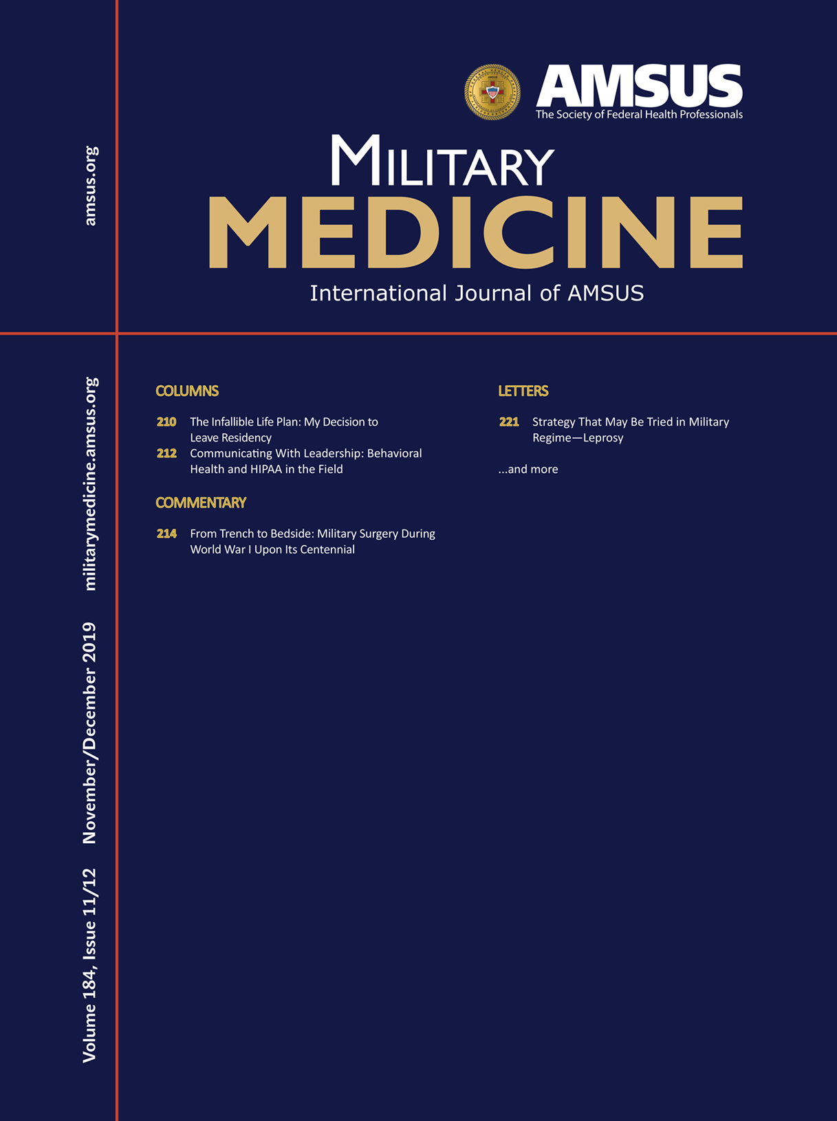 Military Medicine journal