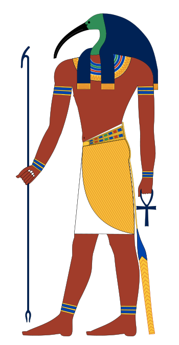 Thoth - Egyptian god of reckoning, learning, writing