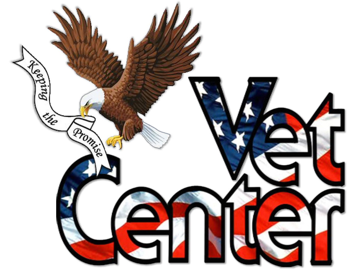 Vet Center logo with eagle