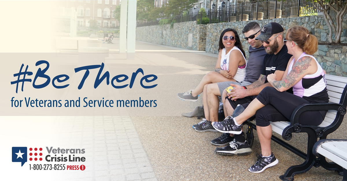Be there for Veterans and Service members
