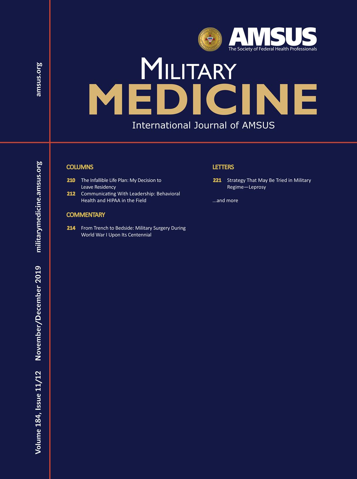 Military Medicine journal
